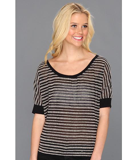 Tricouri Roxy - Doheny 2 Dolman Sleeve Top - True Black Stripe