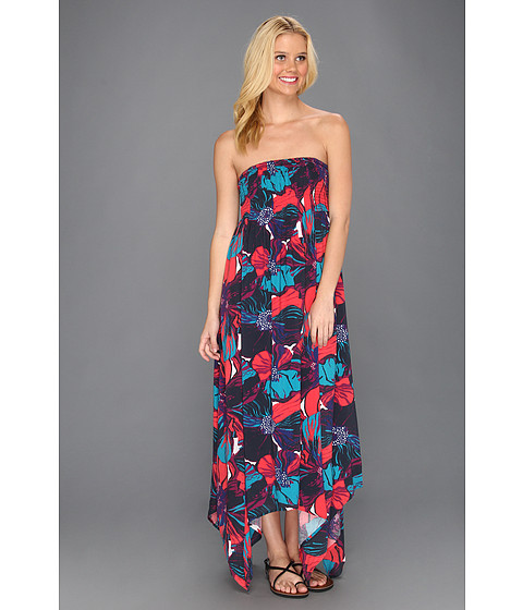 Rochii Roxy - Put Me On Woven Maxi Dress - Topez Large Floral Print