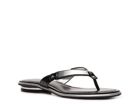 Sandale Fergie - Blink Flat Sandal - Black/Silver