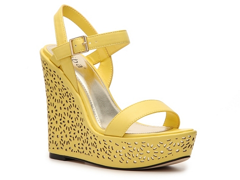Sandale Diba - Rosey Wedge Sandal - Yellow