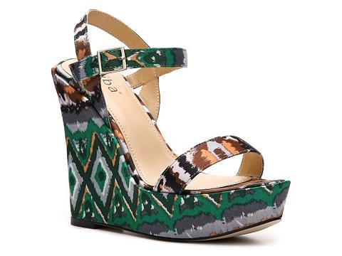 Sandale Diba - Rosey Printed Wedge Sandal - Multicolor