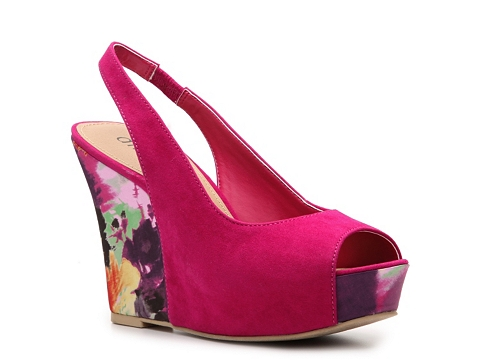 Sandale Diba - New Rosey Wedge Sandal - Fuchsia