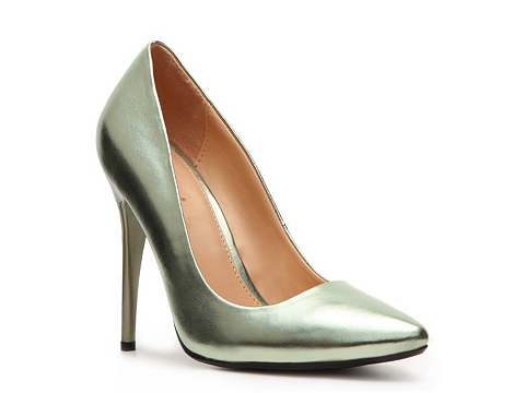 Pantofi Diba - Dianna Metallic Pump - Metallic Green