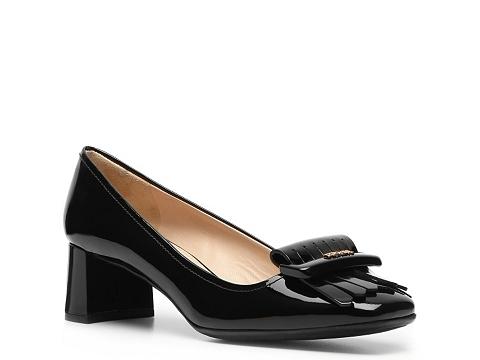 Pantofi Prada - Patent Leather Kiltie Pump - Black