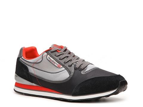Adidasi Diesel - Raketier Aramis Sneaker - Black/Grey/Orange