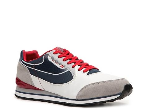 Adidasi Diesel - Raketier Aramis Sneaker - Navy Blue/Red/Grey/White