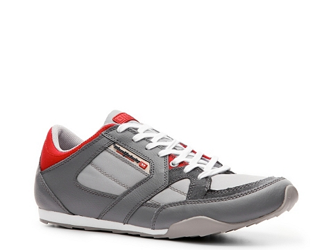 Adidasi Diesel - Long Term Dynamykal Sneaker - Grey/Red/White