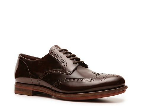 Pantofi Prada - Leather Wingtip Oxford - Chocolate Brown
