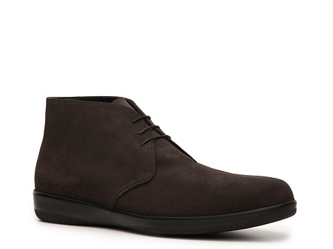 Ghete Prada - Suede Chukka Boot - Chocolate Brown