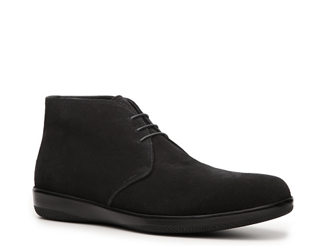 Ghete Prada - Suede Chukka Boot - Black