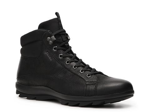 Ghete Prada - Leather Boot - Black