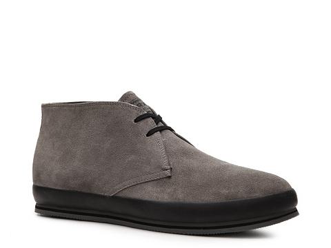 Ghete Prada - Suede Chukka Boot - Grey