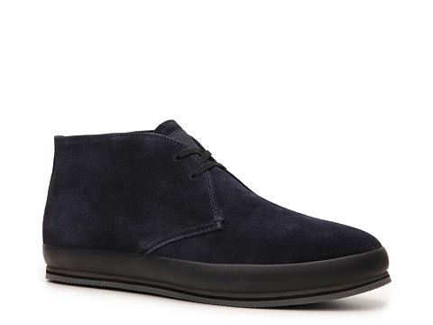 Ghete Prada - Suede Chukka Boot - Blue