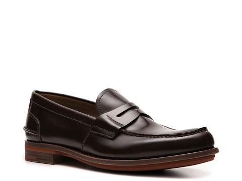 Pantofi Prada - Leather Penny Loafer - Dark Brown