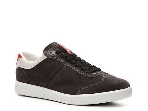 Pantofi Prada - Suede Sneaker - Charcoal Grey