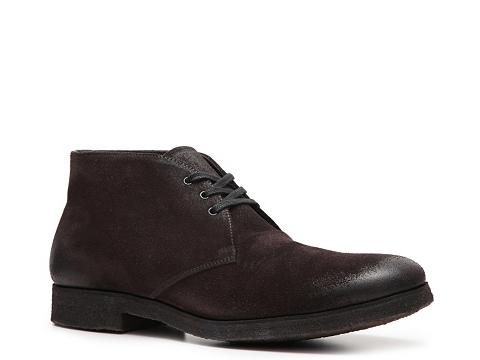 Pantofi Prada - Suede Chukka Boot - Chocolate Brown