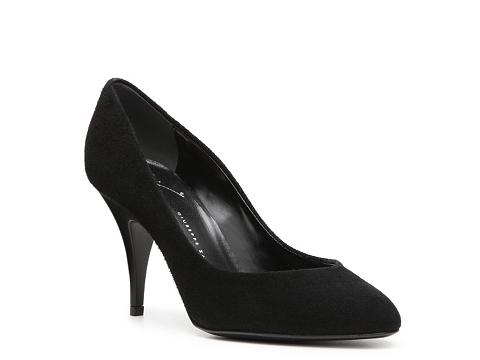 Pantofi Giuseppe Zanotti - Suede Pump - Black