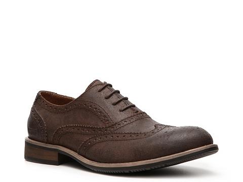 Pantofi Kenneth Cole Reaction - Rogue Trip Oxford - Distressed Brown
