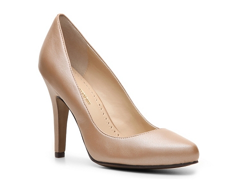 Pantofi Adrienne Vittadini - Monique Metallic Pump - Taupe