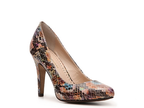 Pantofi Adrienne Vittadini - Monique Reptile Pump - Multi brights