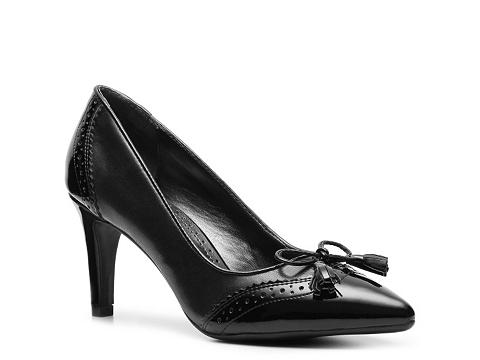 Pantofi Adrienne Vittadini - Carlsbad Pump - Black