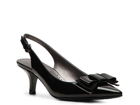 Pantofi Adrienne Vittadini - Peridot Patent Pump - Black