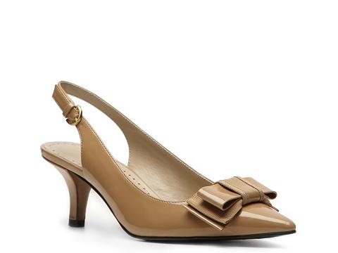Pantofi Adrienne Vittadini - Peridot Patent Pump - Camel