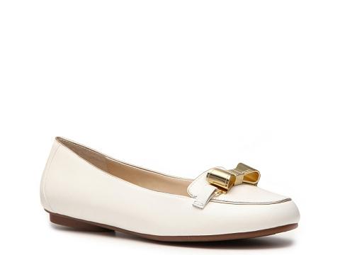 Balerini Adrienne Vittadini - Chiquita Flat - White