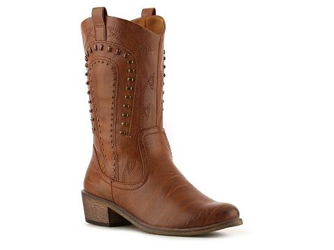 Pantofi Bare Traps - Partner Western Boot - Brown