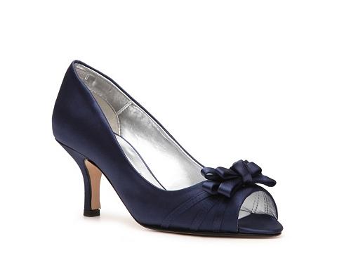 Pantofi Caparros - Violetta Peep Toe Pump - Navy