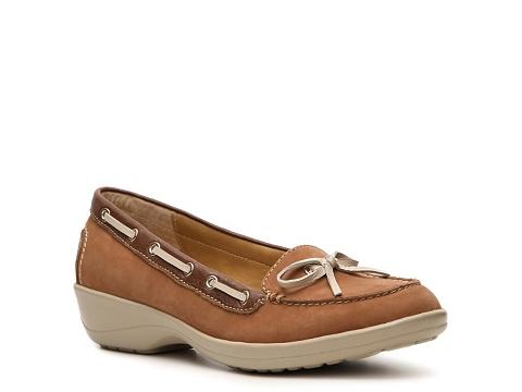 Pantofi Softspots - Ally Boat Shoe - Brown
