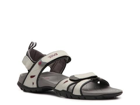 Adidasi Teva - Numa Flat Sandal - Light Grey