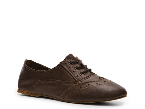 Balerini Vintage Shoe Company - Aubrey Oxford - Dark Brown