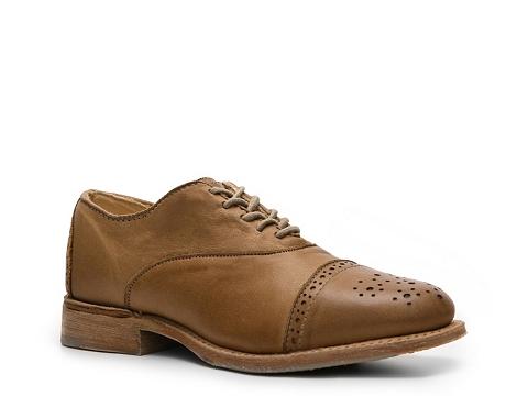 Balerini Vintage Shoe Company - Ellen Oxford - Cognac