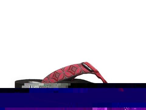 Sandale Teva - Mush II Print Flip Flop - Red/Bright Pink