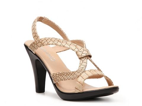 Sandale Andiamo - Laverne Platform Sandal - Tan