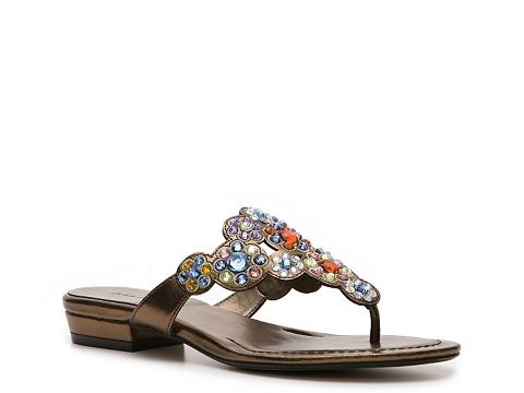 Sandale Ann Marino - Tetris Sandal - Bronze/Multicolor