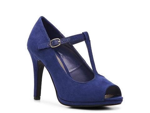 Pantofi Ann Marino - El Dorado Pump - Cobalt