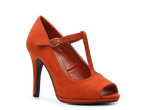 Pantofi Ann Marino - El Dorado Pump - Orange