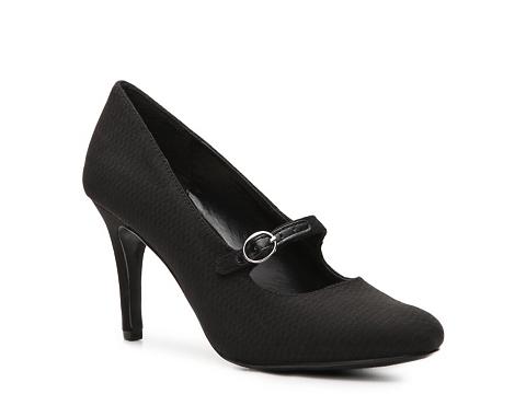 Pantofi Ann Marino - Tower Pump - Black