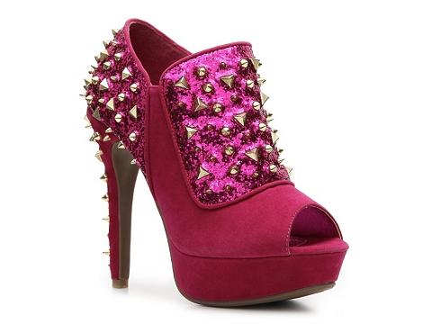 Pantofi Anne Michelle - Assassin-38 Bootie - Fuchsia
