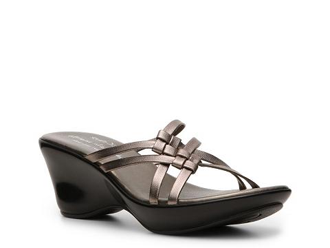 Sandale Athena Alexander Studio Direct - Scandal Wedge Sandal - Pewter
