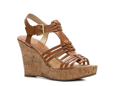 Sandale Audrey Brooke - Carina Wedge Sandal - Tan