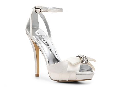 Sandale Audrey Brooke - Stacey Platform Sandal - White
