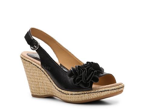 Sandale b.o.c - Poppy Wedge Sandal - Black