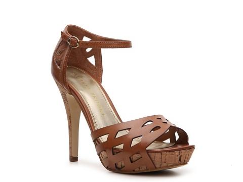 Sandale Audrey Brooke - Cait Platform Sandal - Cognac