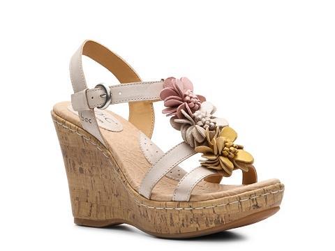 Sandale b.o.c - Fiore Wedge Sandal - Multicolor