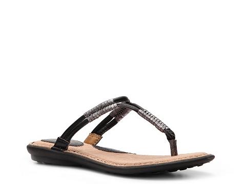 Sandale b.o.c - Reverie Flat Sandal - Black