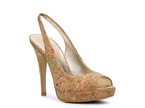 Sandale Audrey Brooke - Isadora Platform Sandal - Natural