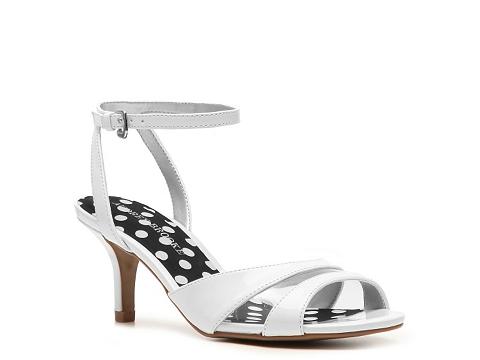 Sandale Audrey Brooke - Saloni Sandal - White